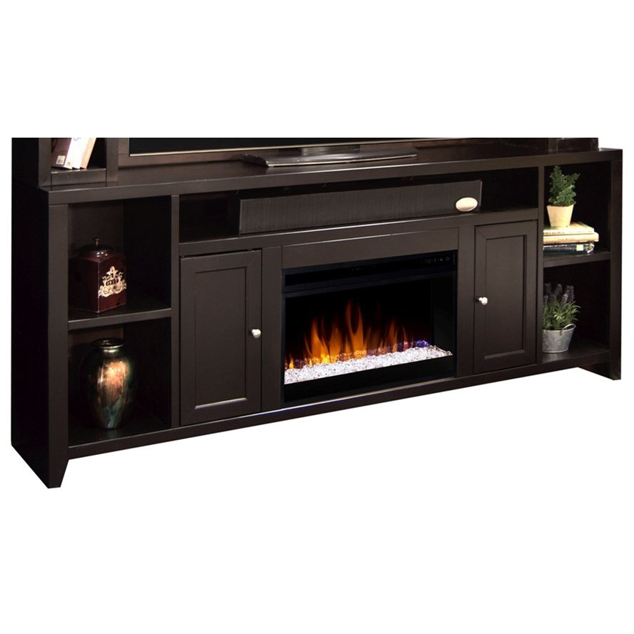 Urban Loft Fireplace Console by Legends Furniture at EFO Furniture Outlet