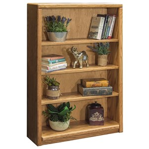 Bookcase With Three Adjustable Shelves