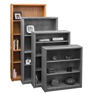 Legends Furniture Contemporary - Value Groups Bookcase With 1 Fixed & 3 adj. Shelves