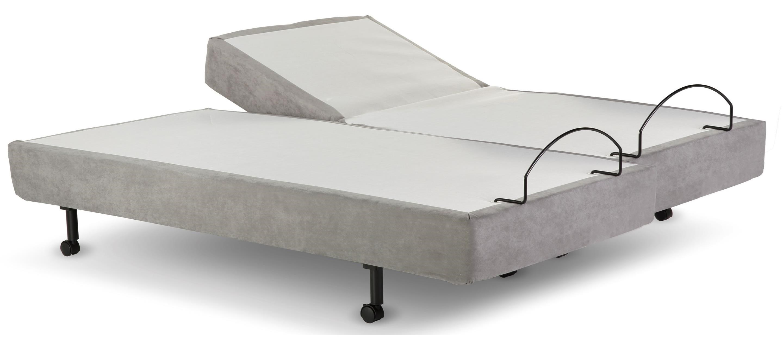 Adjustable C110 Twin XL Grey Adjustable Base by Leggett & Platt at Dream Home Interiors
