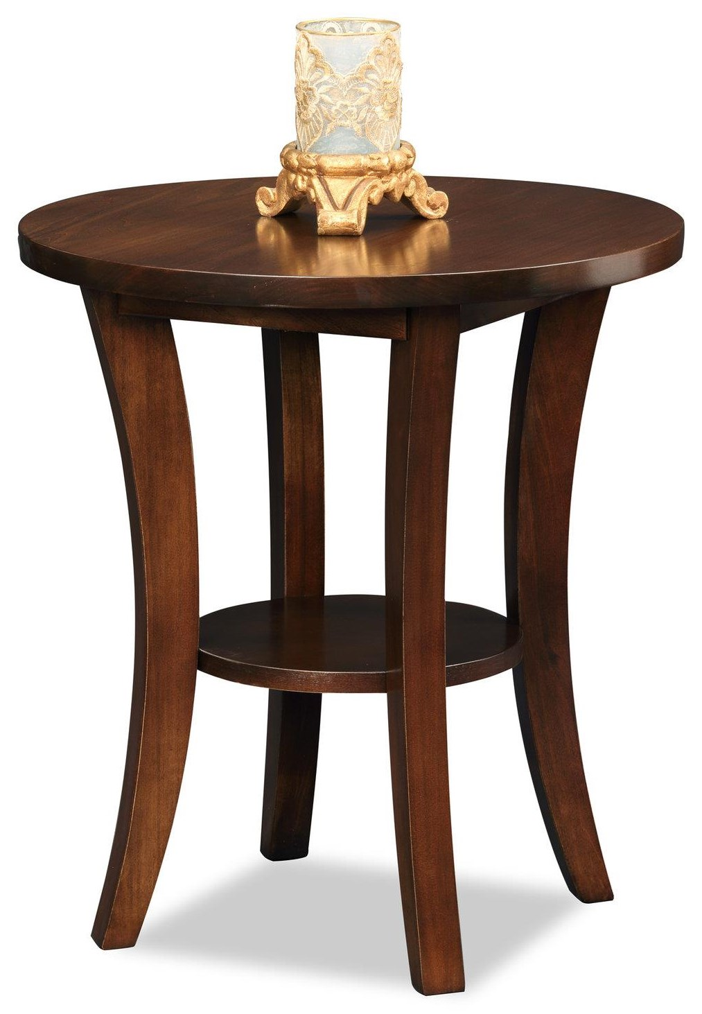Boa End Table by Leick Furniture at Crowley Furniture & Mattress