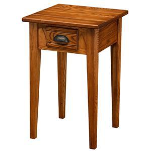 Leick Furniture Favorite Finds Bin Pull Square Table