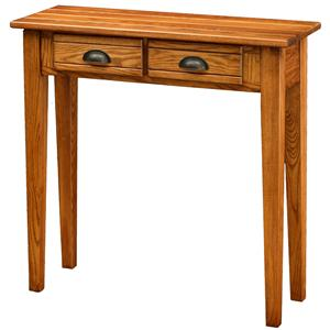 Leick Furniture Favorite Finds 2 Drawer Console Table