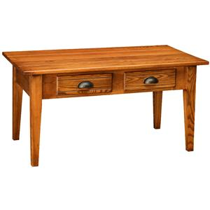 Leick Furniture Favorite Finds 2 Drawer Coffee Table