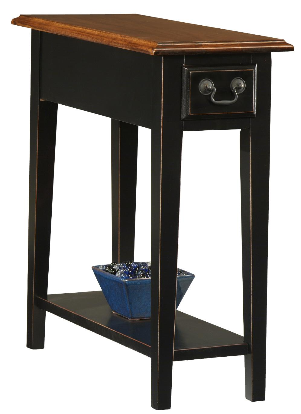 Favorite Finds Side Table by Leick Furniture at Lucas Furniture & Mattress