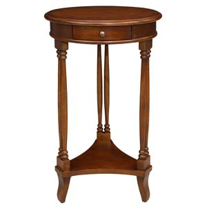 Leick Furniture Favorite Finds Round Twin Leg Table