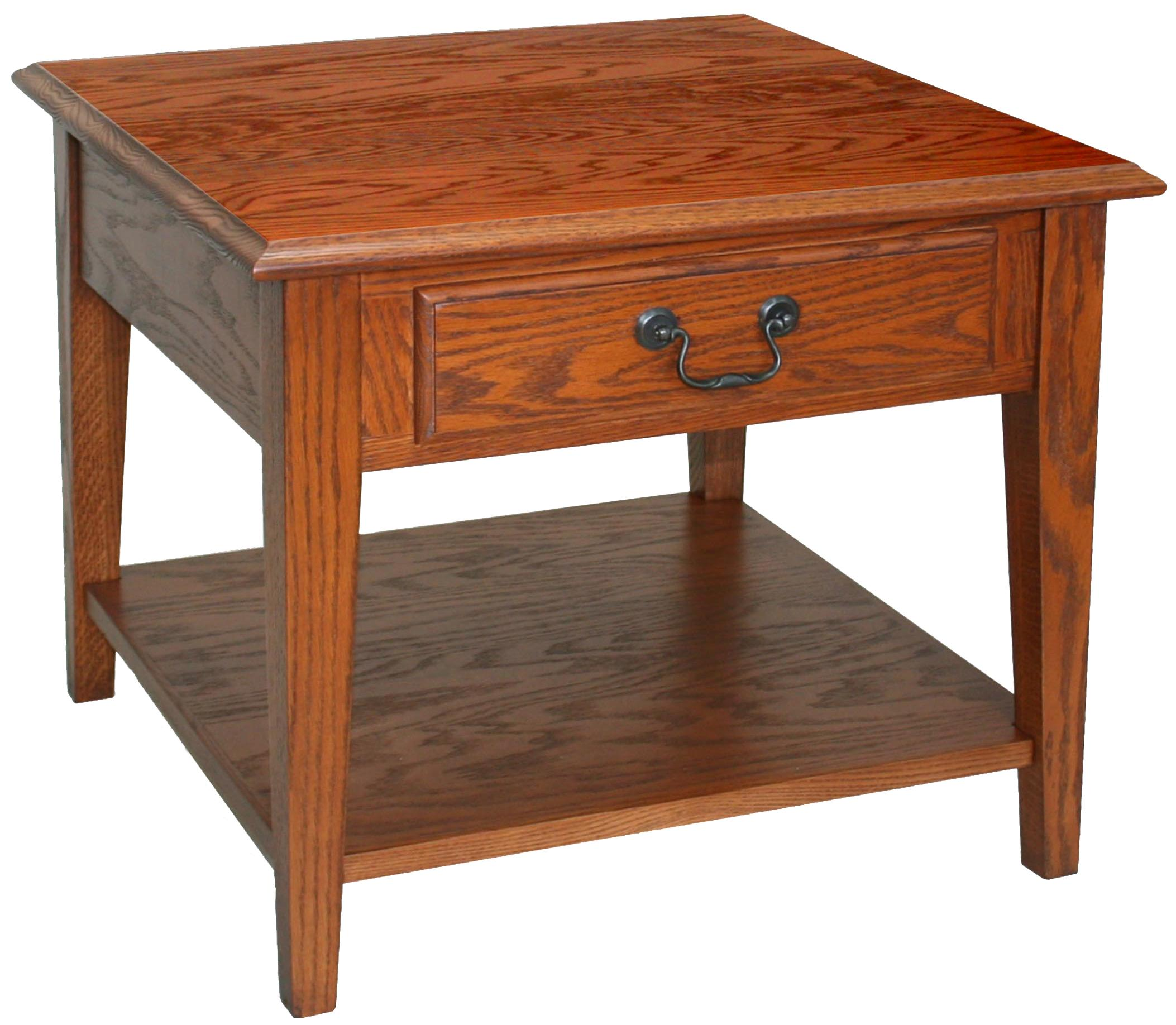 Favorite Finds Recliner Coffee Table by Leick Furniture at Lucas Furniture & Mattress
