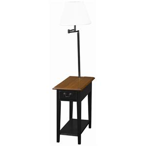 Leick Furniture Favorite Finds Chairside Lamp Table