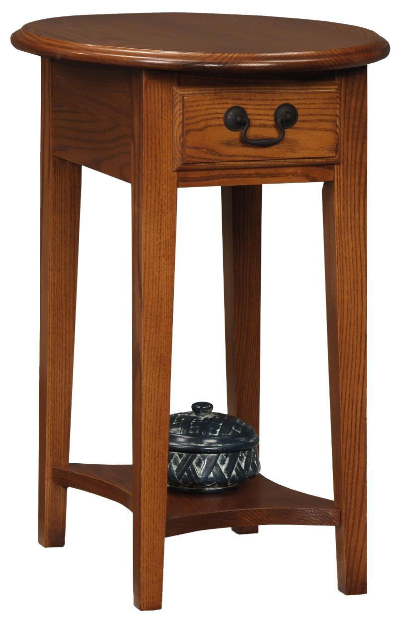 Favorite Finds Side Table by Leick Furniture at Crowley Furniture & Mattress