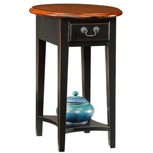 Leick Furniture Favorite Finds Oval Side Table