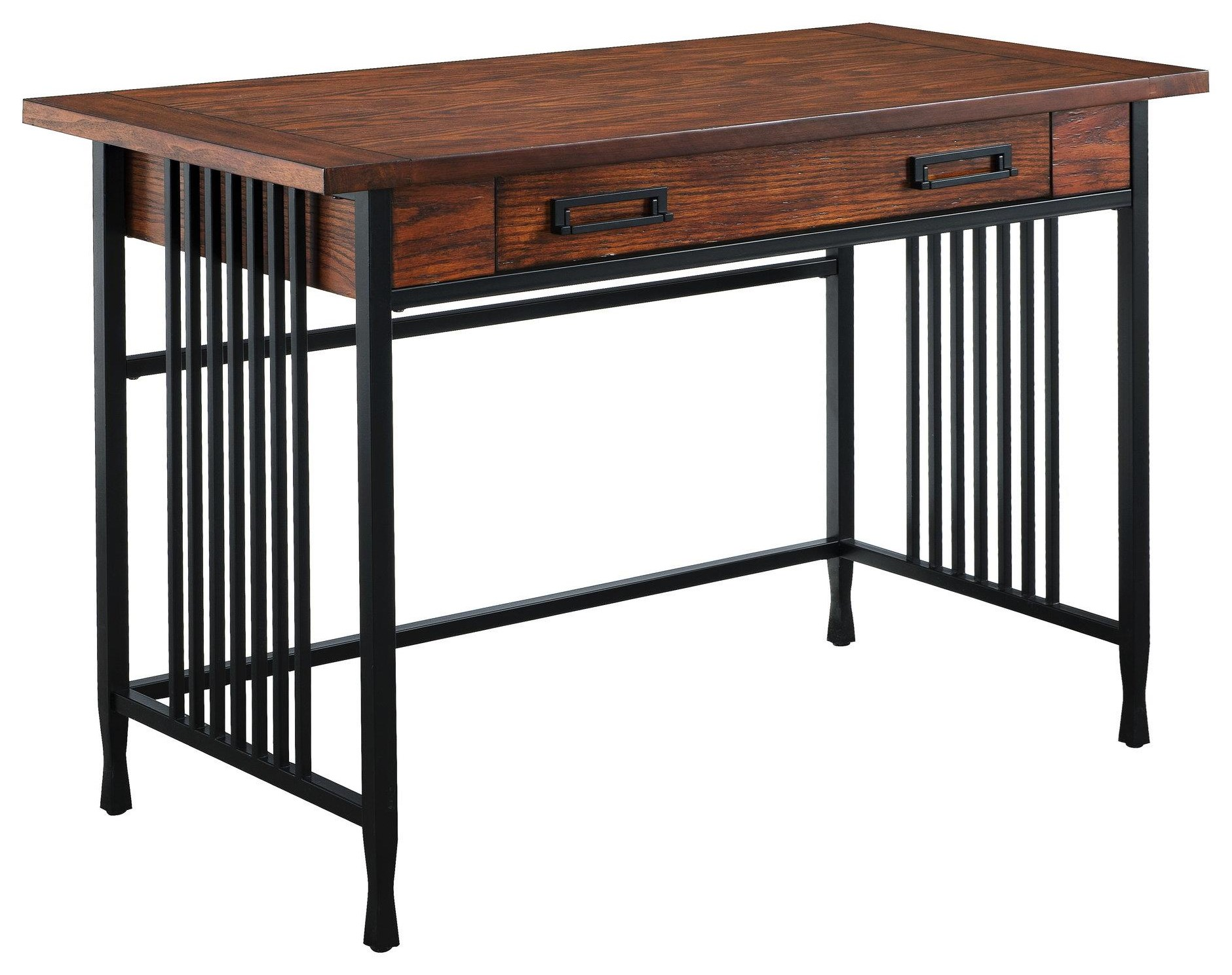 Ironcraft Computer/Writing Desk by Leick Furniture at Crowley Furniture & Mattress