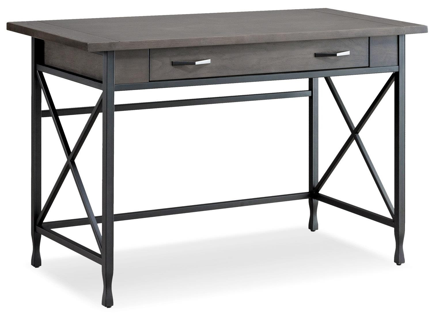 Ironforge Computer/Writing Desk by Leick Furniture at Crowley Furniture & Mattress