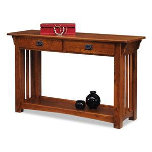 Leick Furniture Mission Impeccable Sofa Table