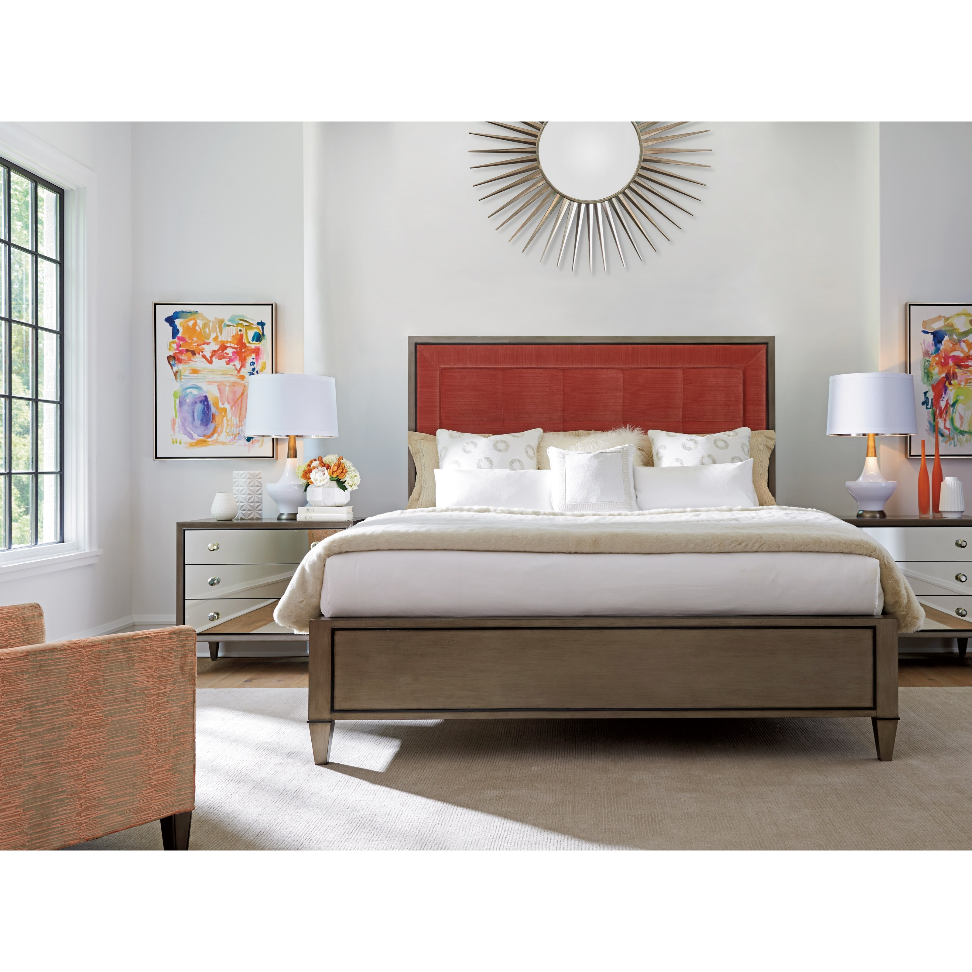 Ariana King Bedroom Group by Lexington at Lindy's Furniture Company