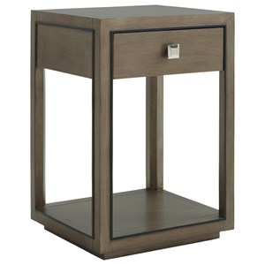Margaux Night Table with One Drawer and One Shelf