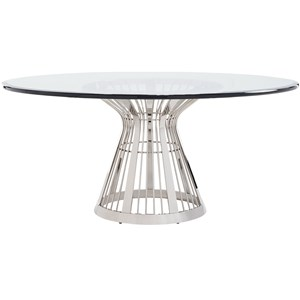 Riviera Stainless Dining Table With 72 Inch
