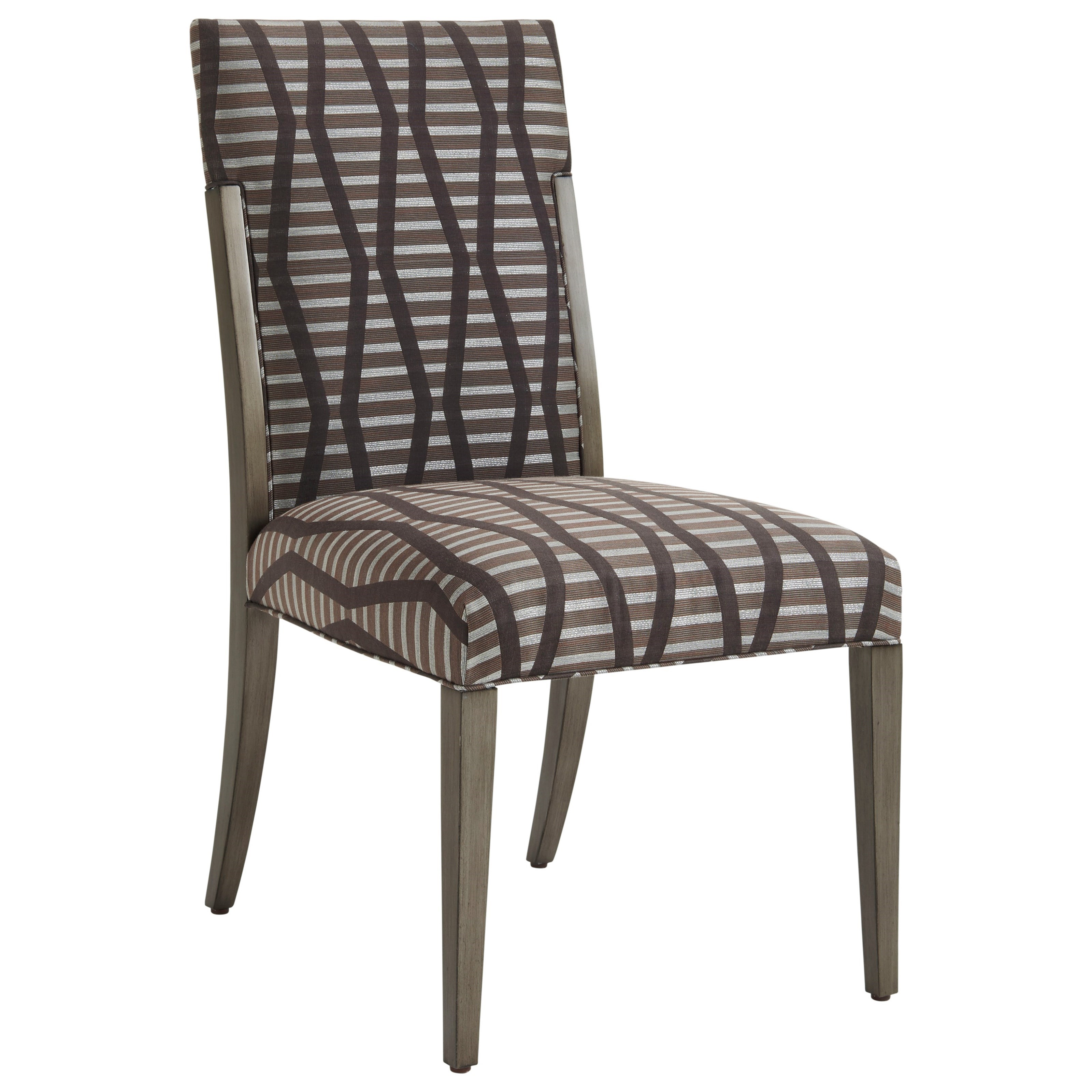 Ariana Saverne Upholstered Side Chair by Lexington at Johnny Janosik