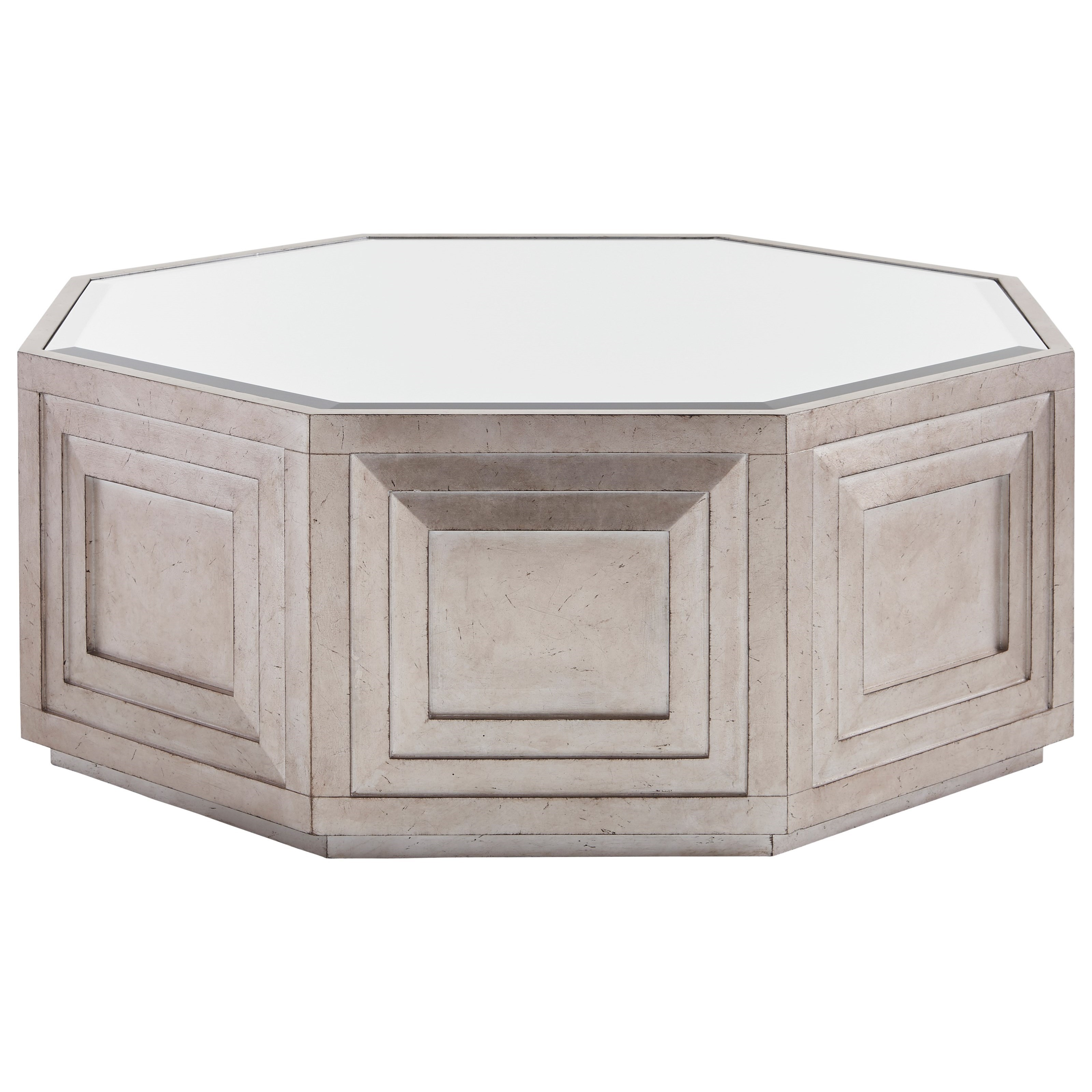 Ariana Rochelle Octagonal Cocktail Table by Lexington at Sprintz Furniture