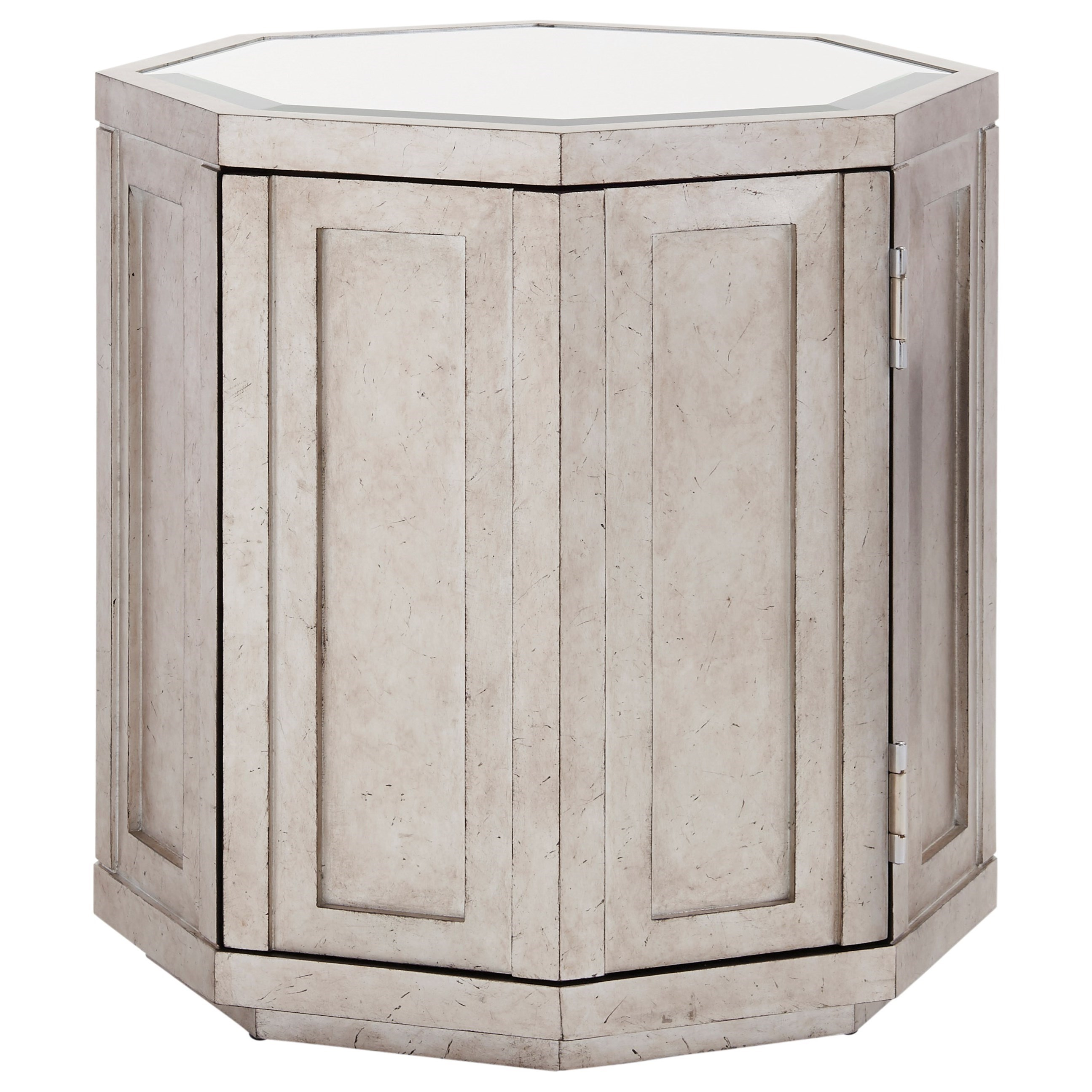Ariana Rochelle Octagonal Storage Table by Lexington at Baer's Furniture