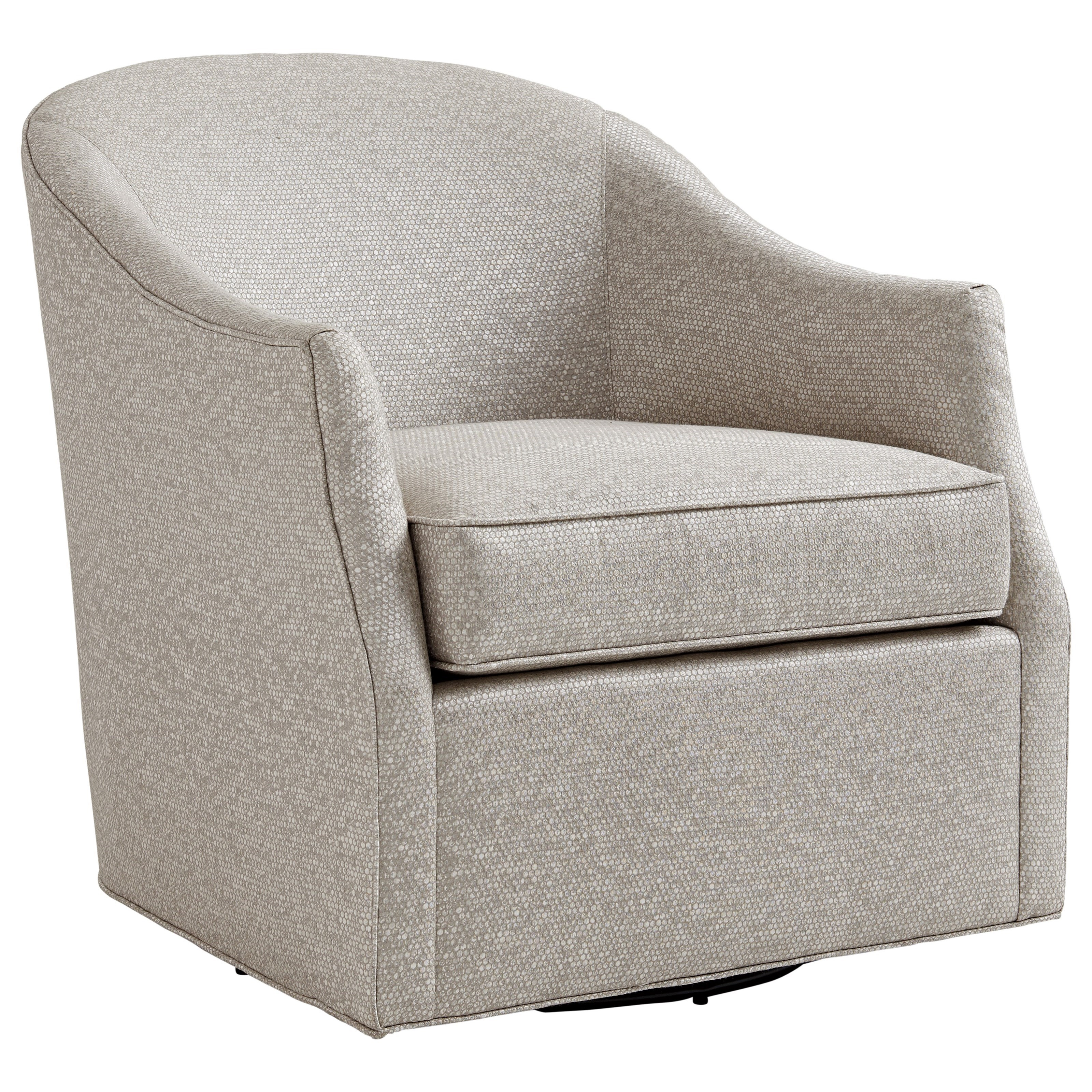 Ariana Escala Swivel Chair by Lexington at Johnny Janosik