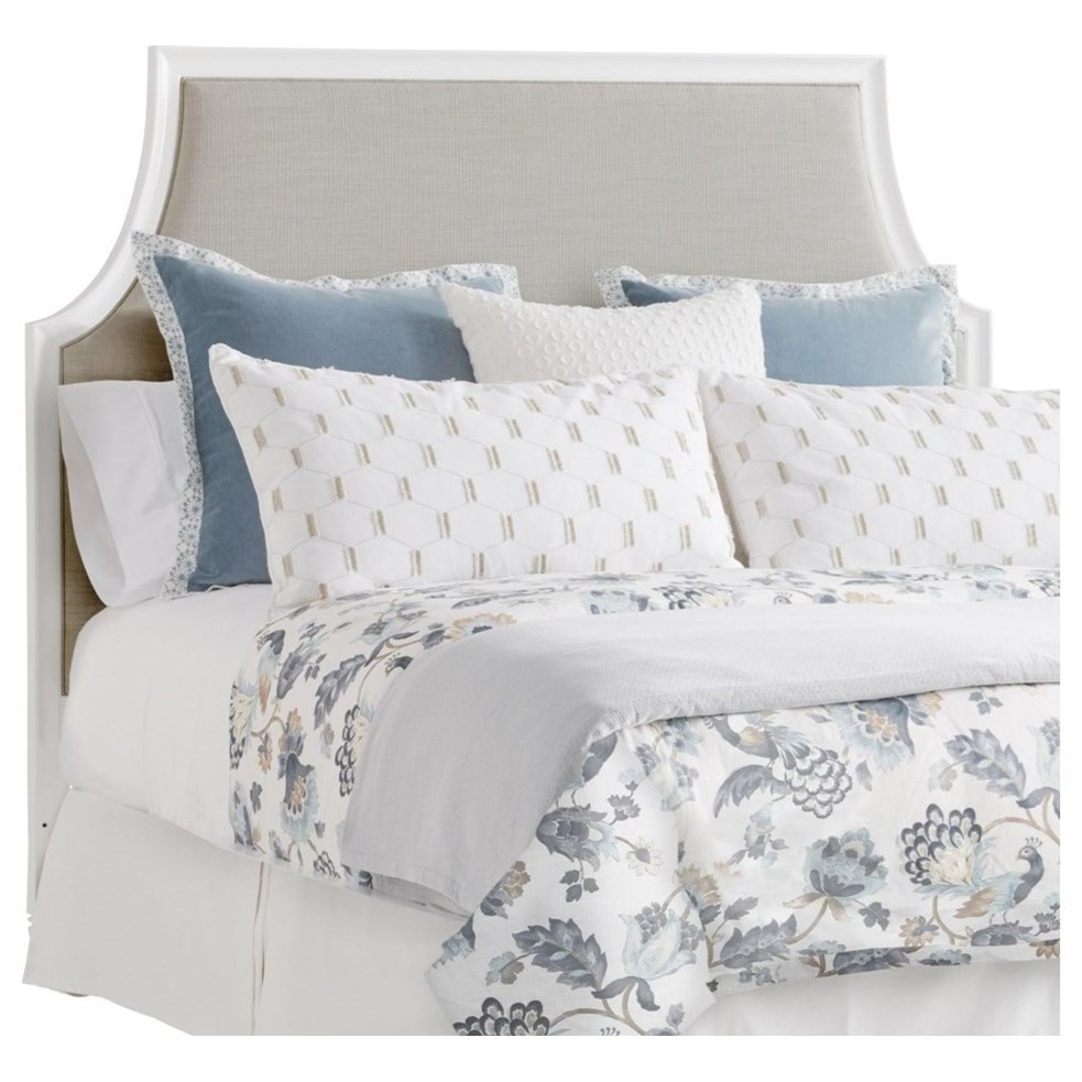 Avondale Inverness Custom Upholstered Headboard Queen by Lexington at Baer's Furniture
