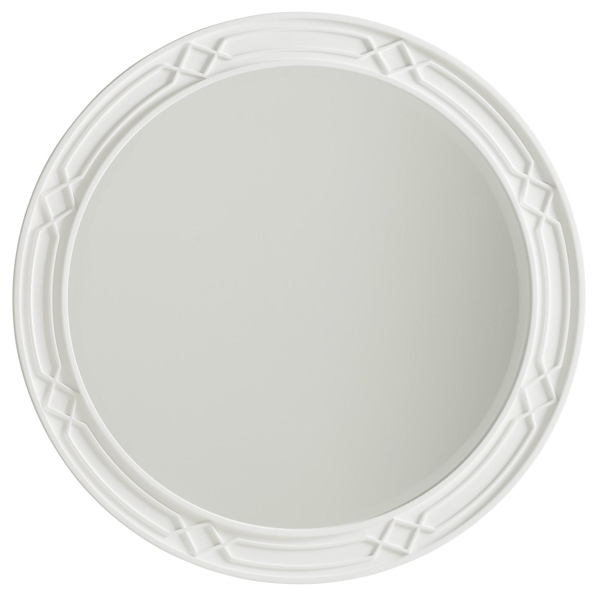 Avondale Carreno Round Mirror by Lexington at Baer's Furniture