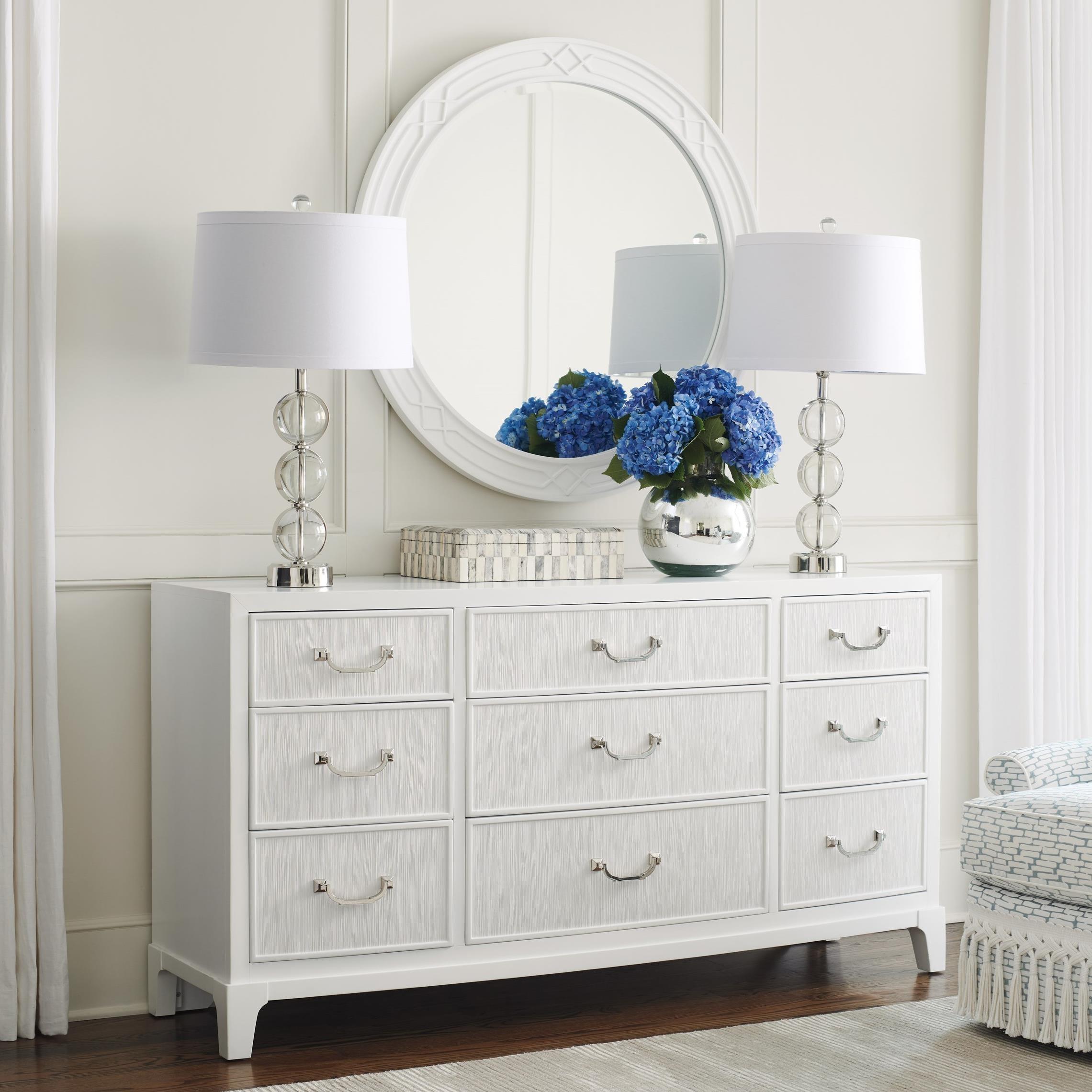 Avondale Silver Lake Dresser & Mirror Set by Lexington at Baer's Furniture
