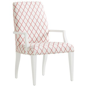 Darien Upholstered Arm Chair - Custom