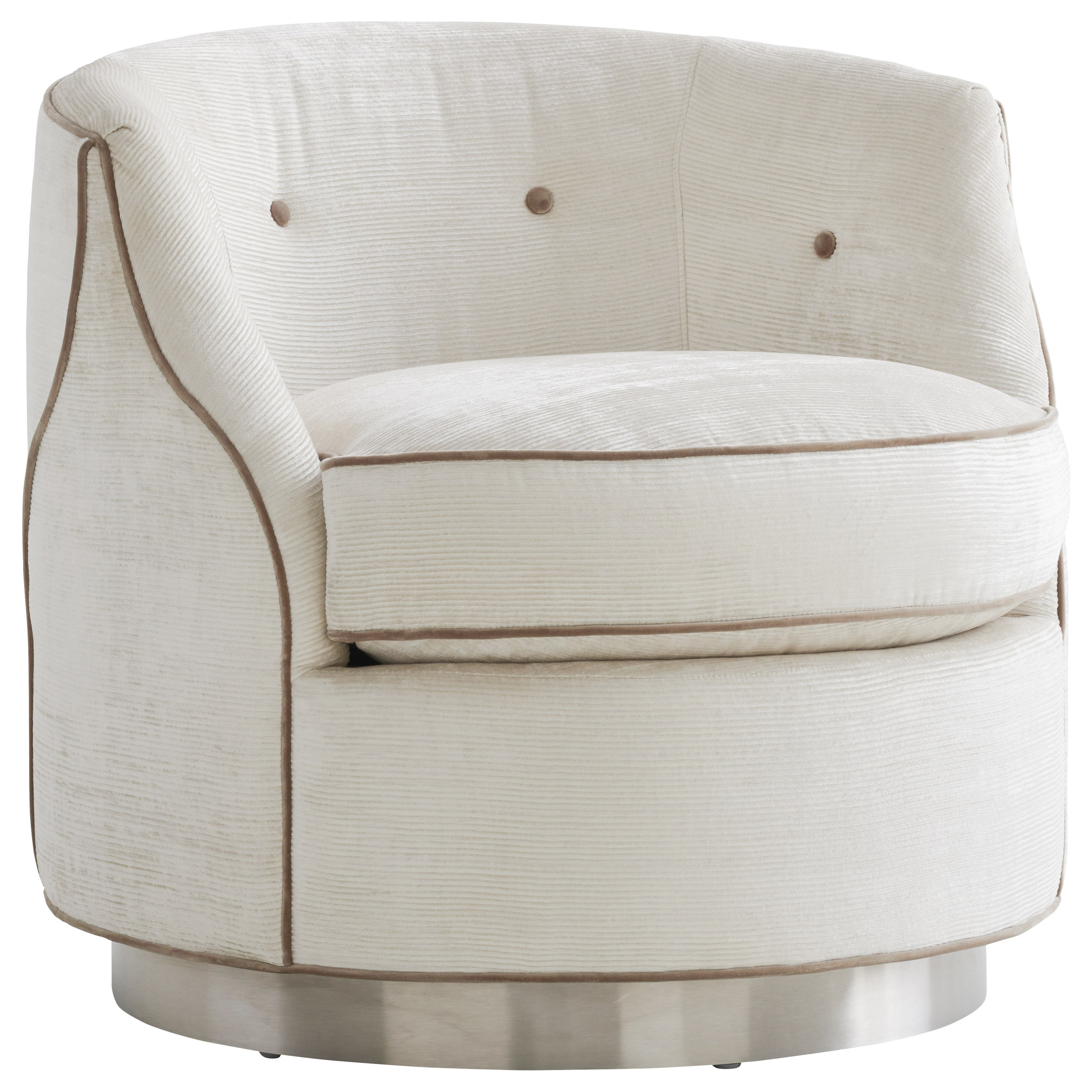 Avondale Robertson Swivel Chair by Lexington at Johnny Janosik
