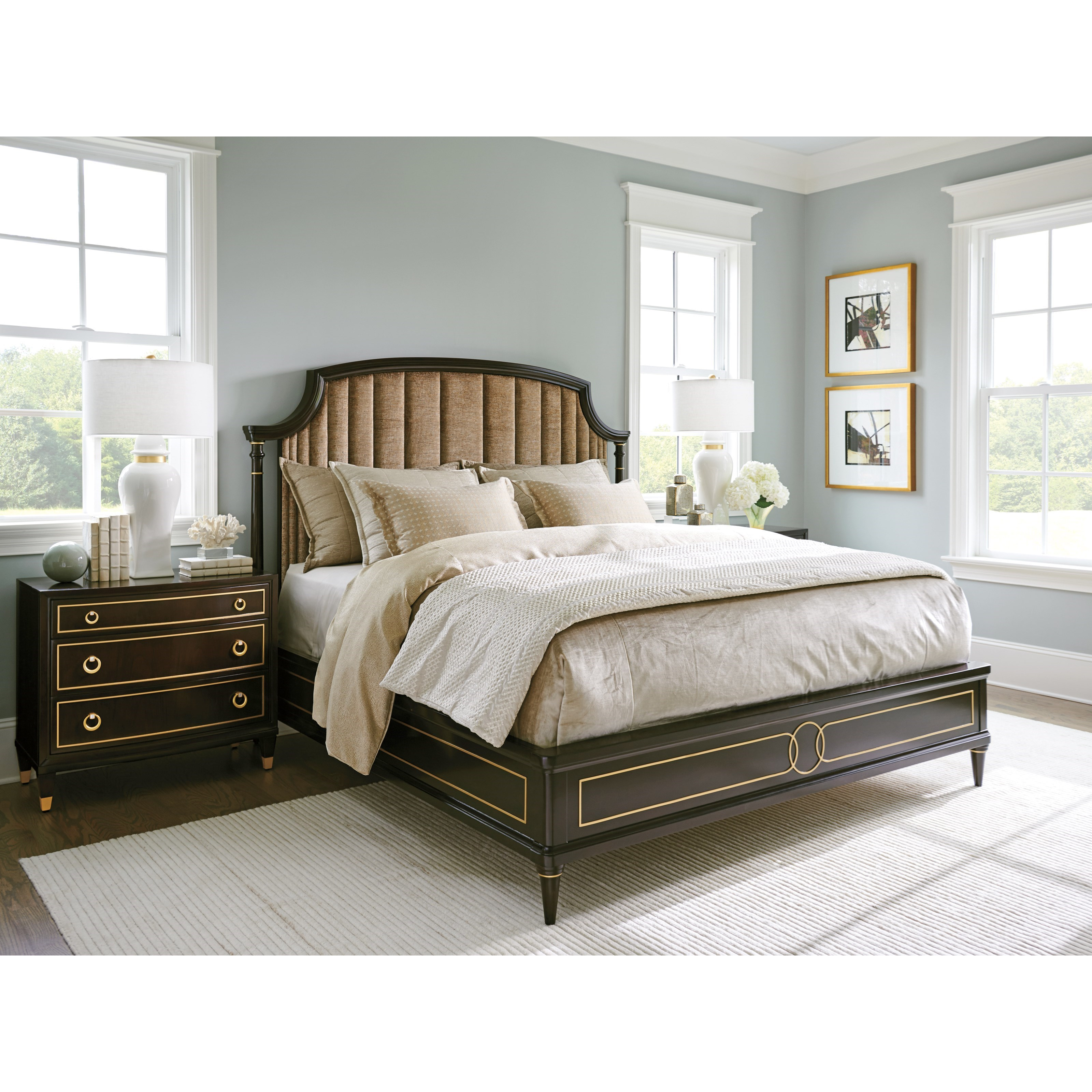 Carlyle King Bedroom Group by Lexington at Johnny Janosik