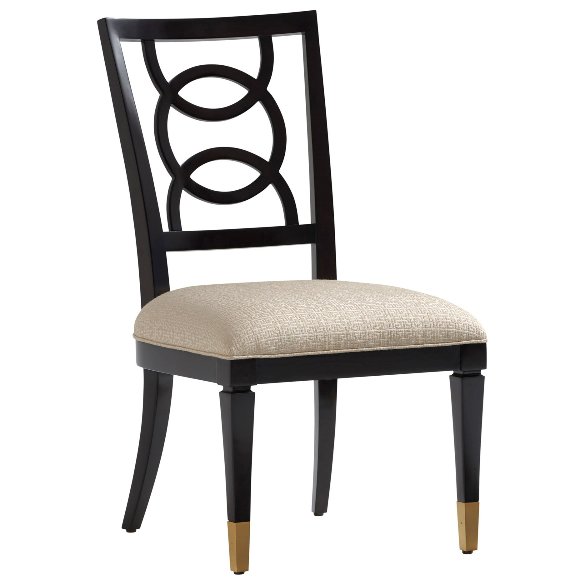 Carlyle Pierce Upholstered Side Chair by Lexington at Johnny Janosik