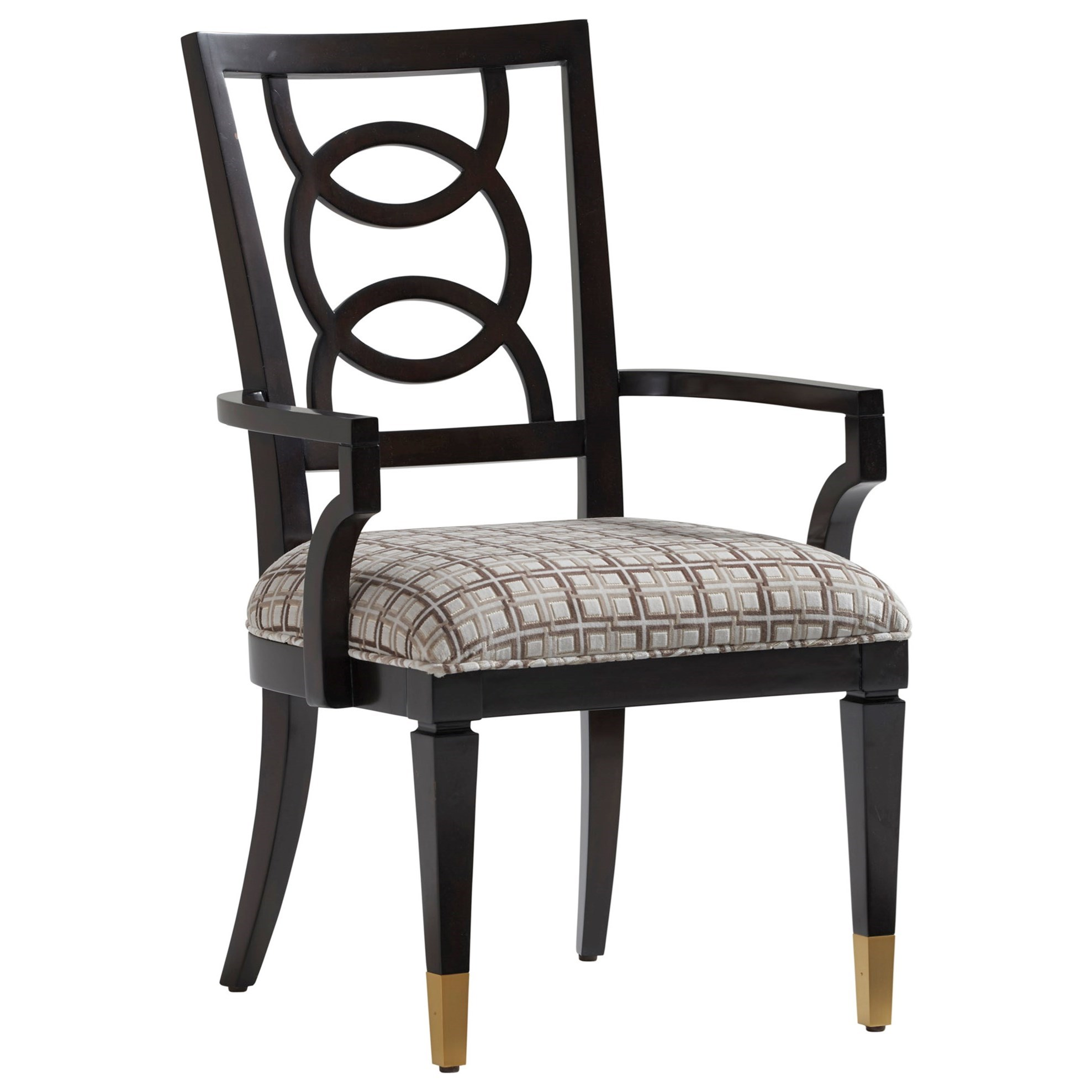 Carlyle Pierce Upholstered Arm Chair - Custom by Lexington at Baer's Furniture