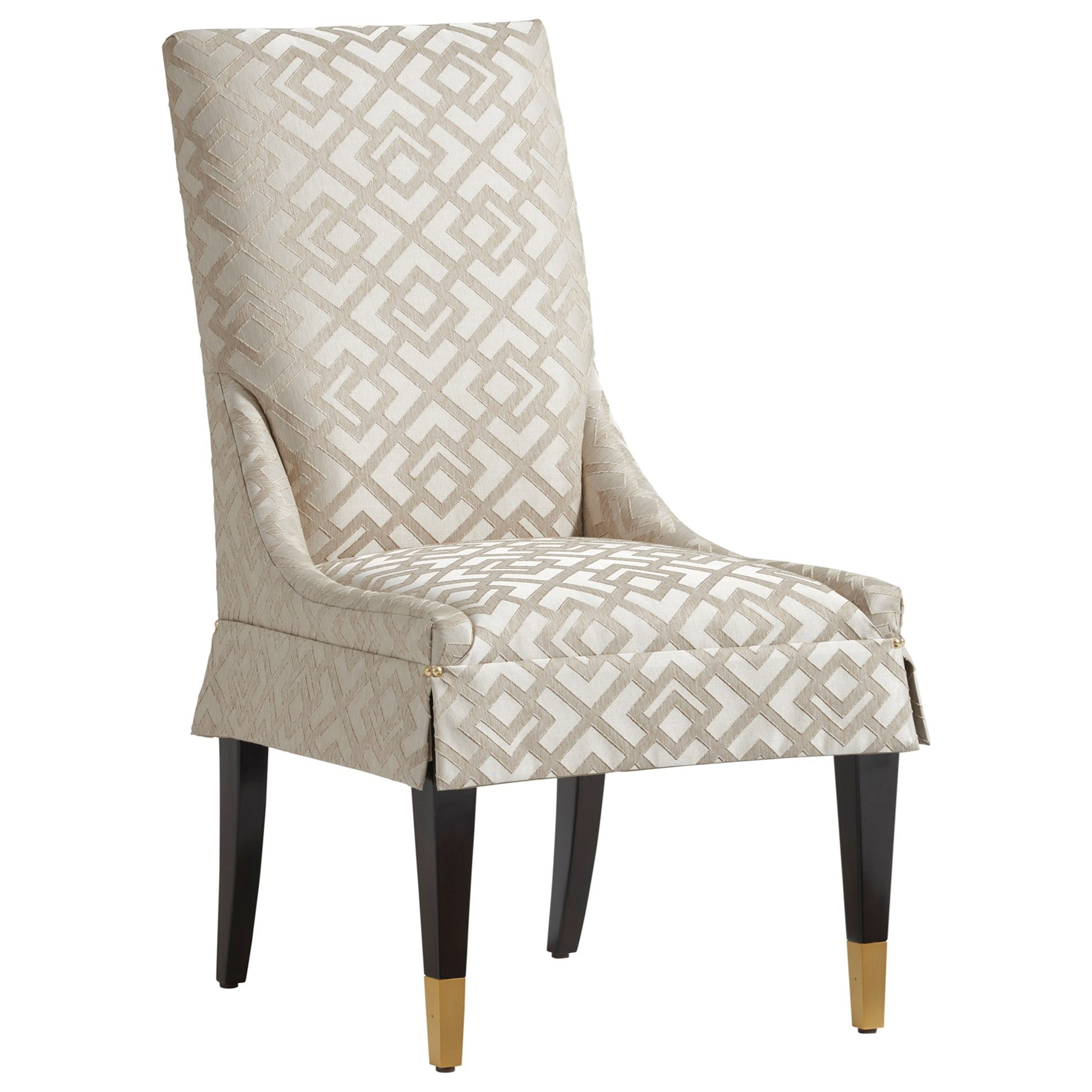 Carlyle Monarch Upholstered Side Chair - Custom by Lexington at Johnny Janosik