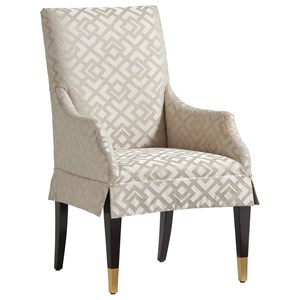 Monarch Upholstered Arm Chair - Custom