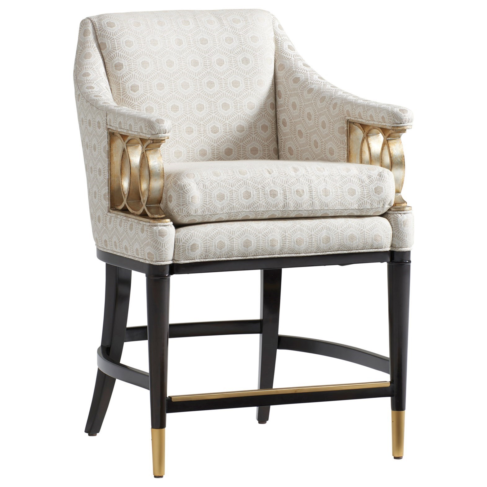 Carlyle Hemsley Upholstered Counter Stool - Custom by Lexington at Baer's Furniture
