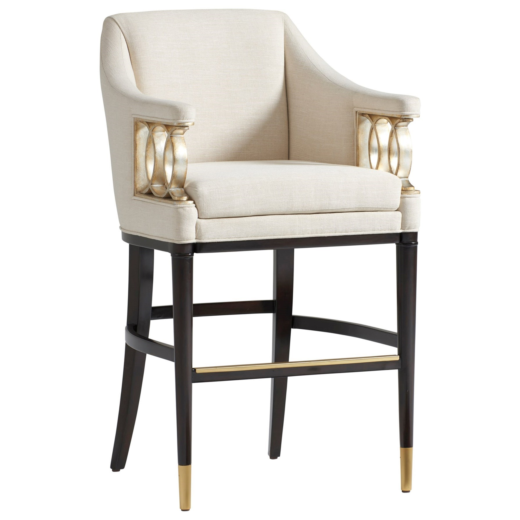 Carlyle Hemsley Upholstered Bar Stool  by Lexington at Baer's Furniture