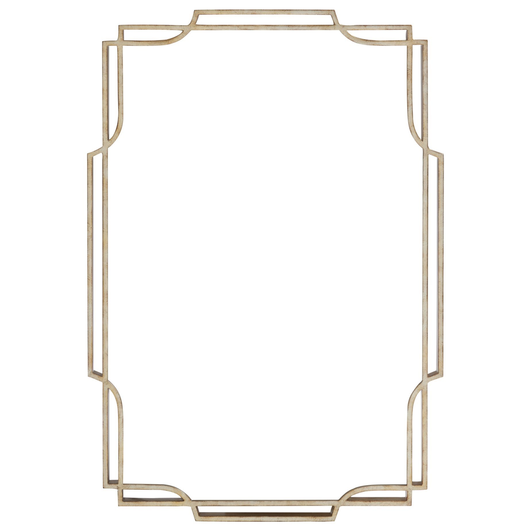 Carlyle Harwood Metal Mirror by Lexington at Baer's Furniture
