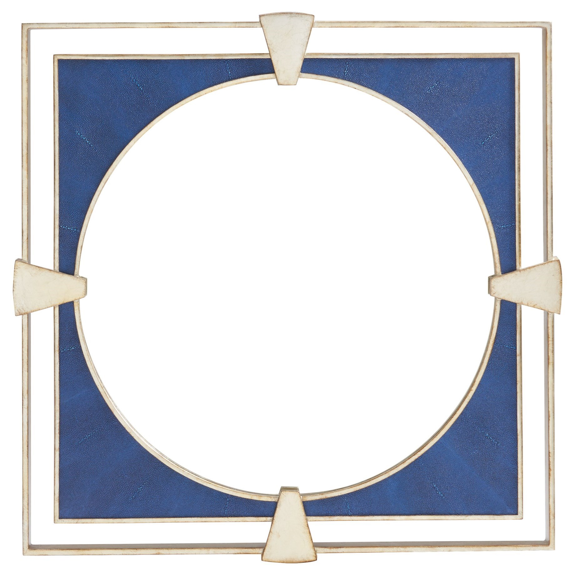 Carlyle Adour Shagreen Square Mirror by Lexington at Baer's Furniture