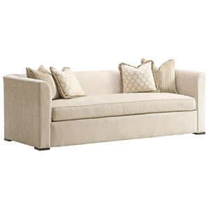 Gotham Tuxedo Sofa with Bench Seat