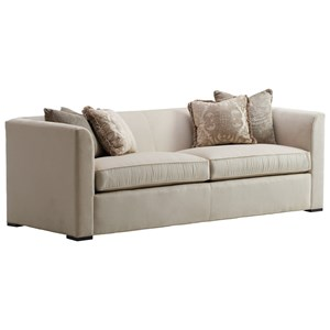 Fulham Tuxedo Sofa with 2 Seats