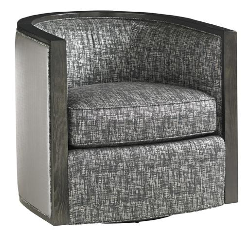 Carrera Palermo Swivel Chair by Lexington at Baer's Furniture