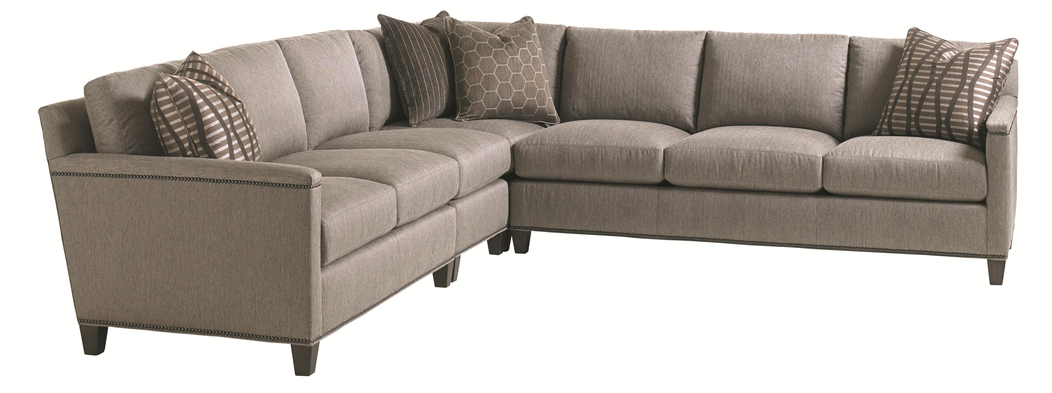 Carrera 4 Pc Sectional Sofa by Lexington at Jacksonville Furniture Mart