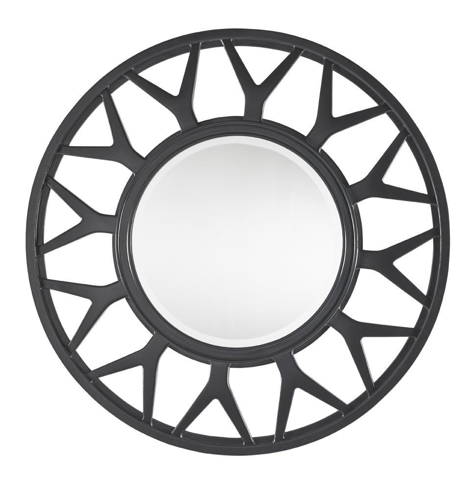 Carrera Esprit Round Mirror  by Lexington at Baer's Furniture