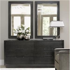 Lexington Carrera Dresser and Mirror Set
