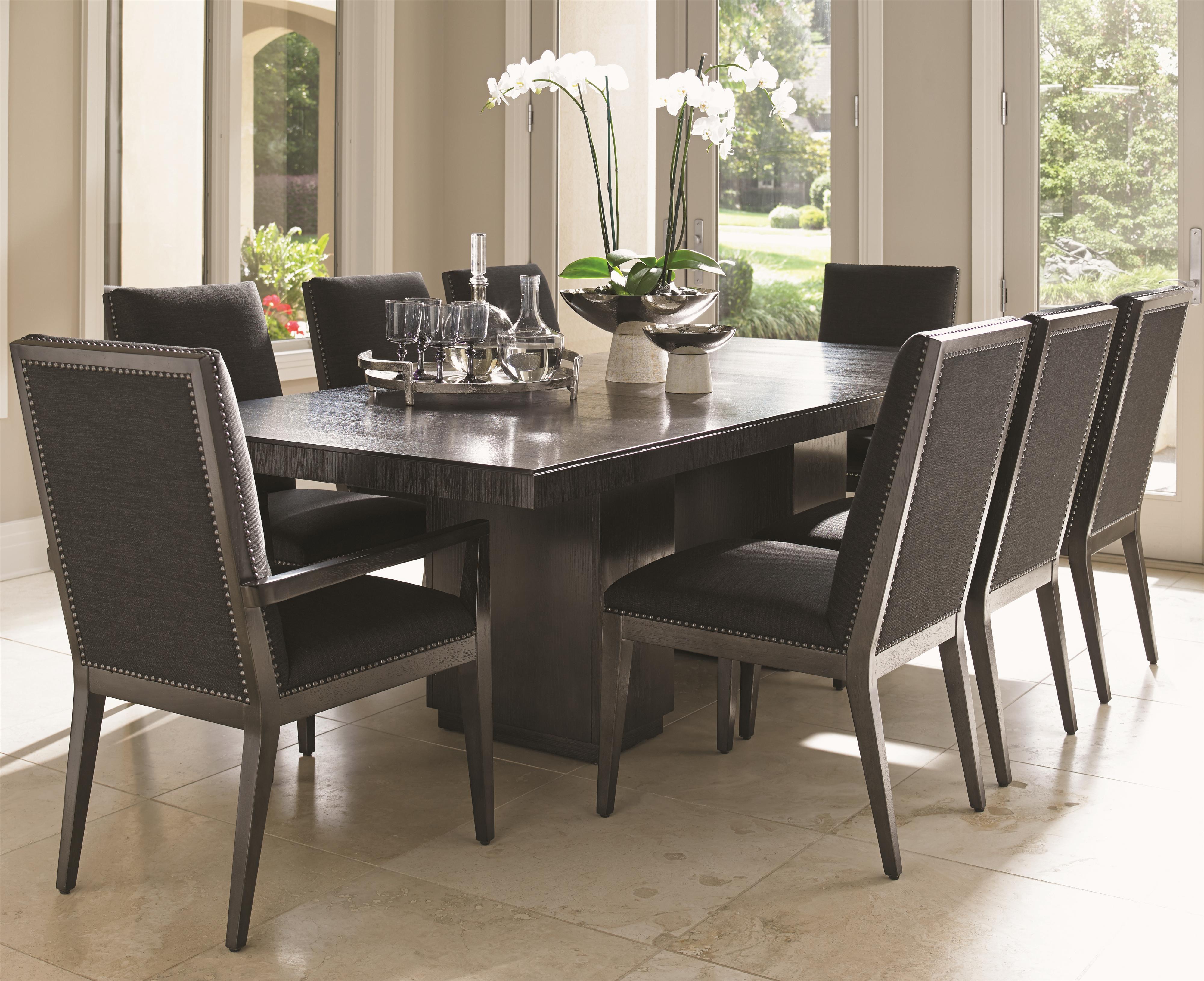 Carrera Modena 9 Pc Dining Set by Lexington at Baer's Furniture
