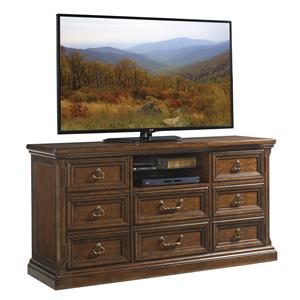 Provincetown Media Console with Wire Management Grommets