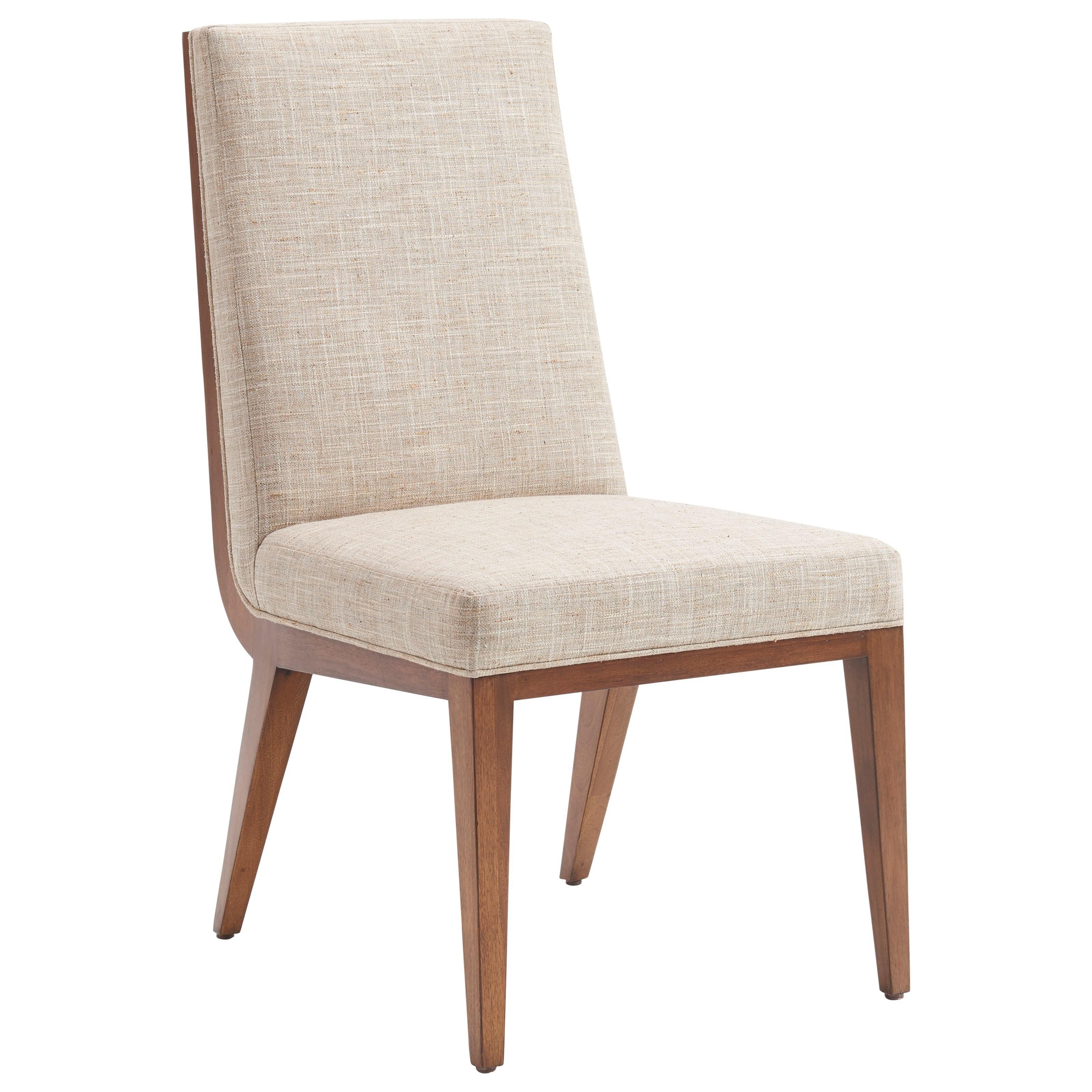 Kitano Marino Upholstered Side Chair by Lexington at Johnny Janosik