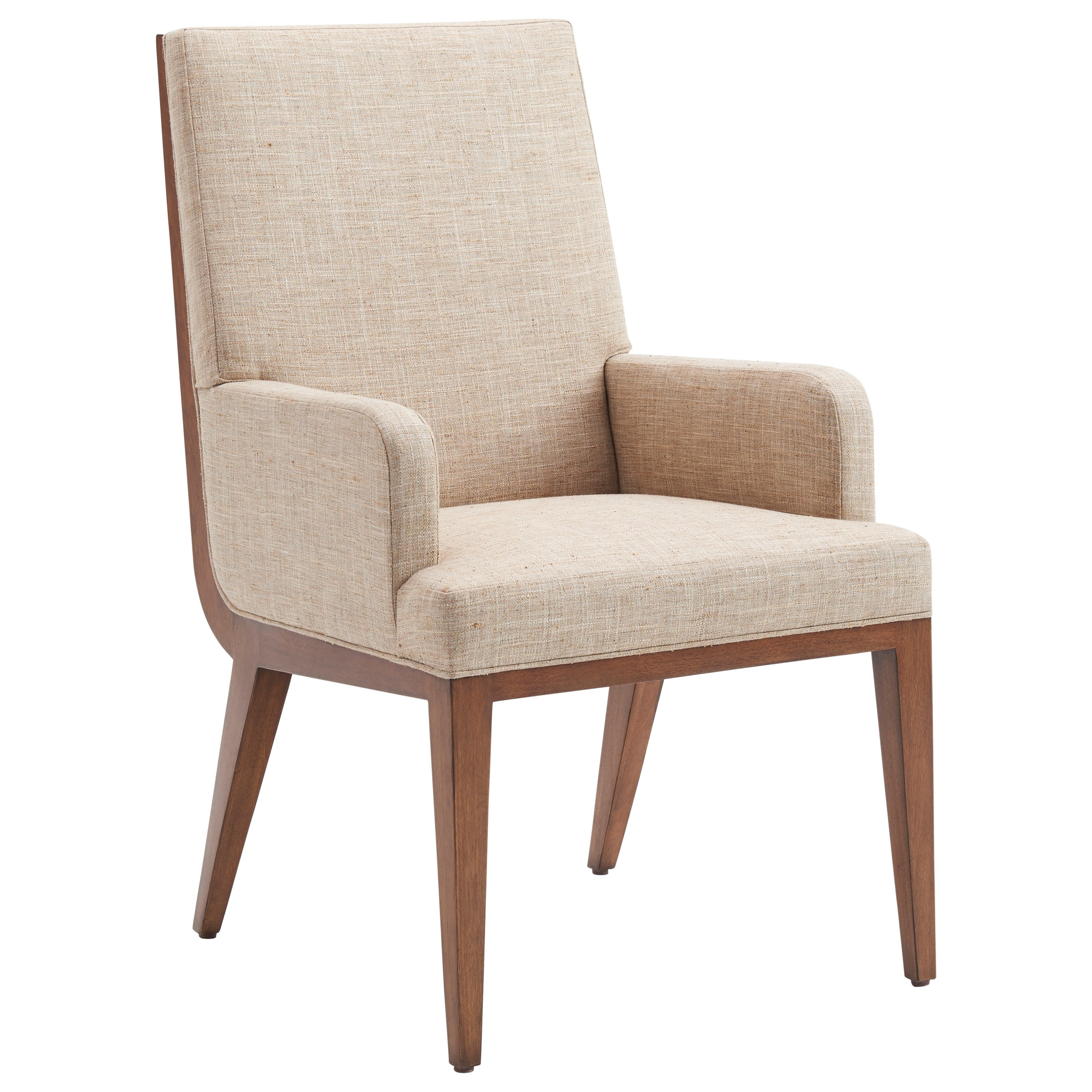 Kitano Marino Upholstered Arm Chair by Lexington at Johnny Janosik