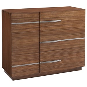 Scofield Accent Chest with Two Doors and Five Adjustable Shelves