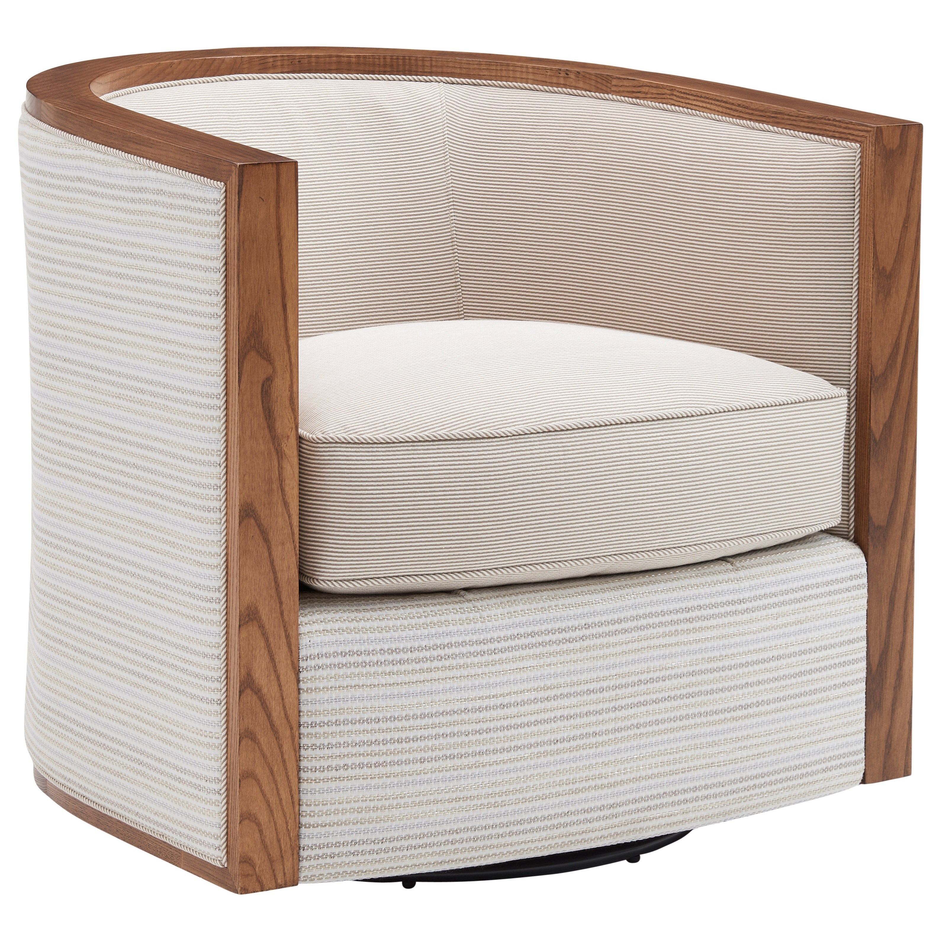 Kitano Palermo Swivel Chair by Lexington at Fisher Home Furnishings